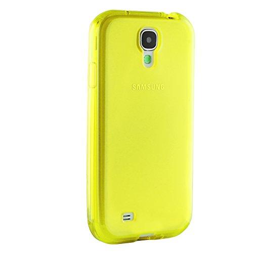 Urcover® Galaxy S3 Hülle, TPU / Silikon Schutzhülle Ultra Slim Transparent Crystal Clear durchsichtig Klar Case Cover Smartphone Zubehör Schale Handyhülle für Samsung Galaxy S3 Farbe: Violett Gelb
