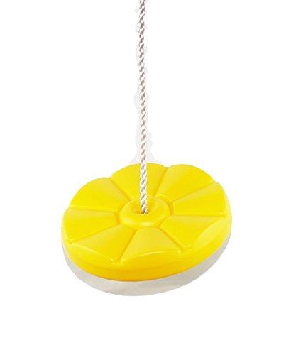 HIKS gelb Kids/Kinder Button Disc Monkey rund Seil Swing (auch erhältlich in blau, rot und Preisvergleich