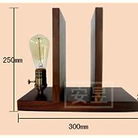 DZXYA Il Nordic minimalista scrivania, legno moderno arti creative logs del letto (Ufficio Noce Scrivania)