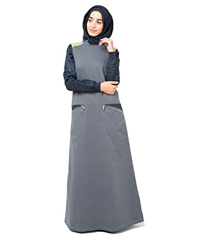 Silk Route Sports Pocket Muslim Fashion Abaya Burka Jilbab