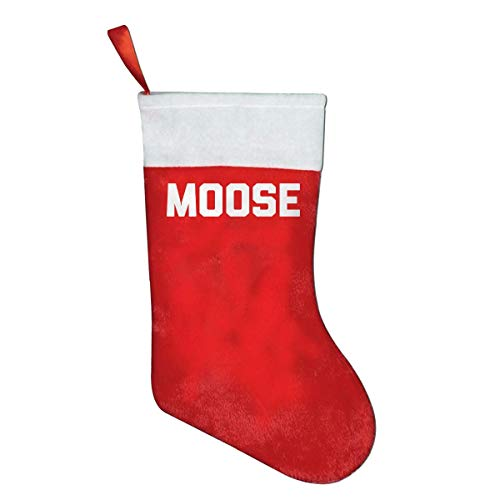But why miss Moose Classic X-Mas Christmas Socks Gift Bags Gift Bags Christmas Decorations Santa Claus Socks Candy Bags Red Penguin Classic Cap
