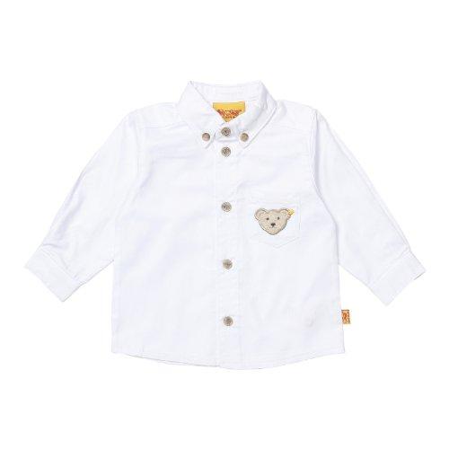 Steiff Unisex-Baby Hemd 0006838, Gr. 80, Weiß (1000)