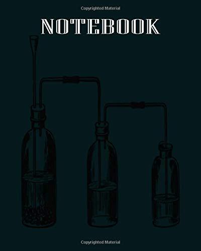 Notebook: schwefelwasserstoff appar - 50 sheets, 100 pages - 8 x 10 inches