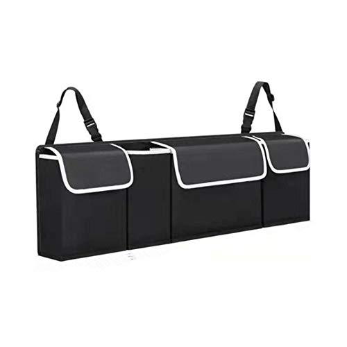 TOMMY LAMBERT Auto Innenausstattung Rücksitz Aufbewahrungsbox Tasche Oxford Kofferraum Organizer Center Console Armrest Storage Box Auto Armlehnen Box