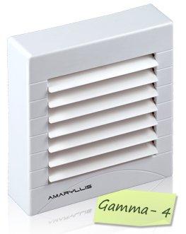 Amaryllis Bathroom Exhaust Fan 4 Inch Gamma - 4 White/Ivory