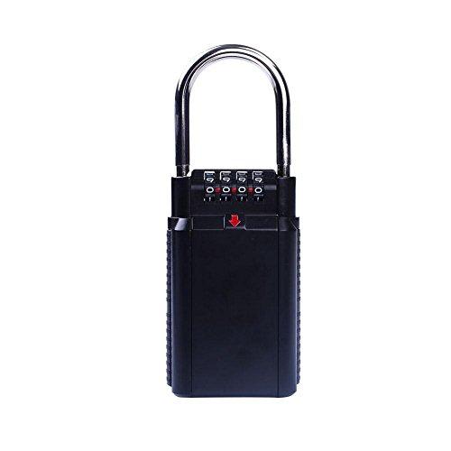 schlüssel - schloss, 4 - nummerierten schlüssel schloss, tragbare schlüssel sicher anti - rost wasserdicht schlüssel sicher, großer speicher schlüssel - schloss für zu hause, garage, schule, büro usw.