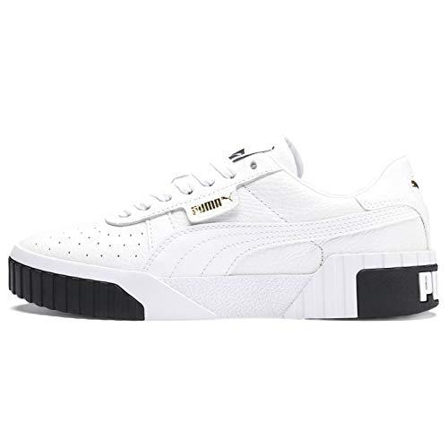 Puma Cali Wn's, Sneakers Basses Femme, Blanc White Black 04, EU