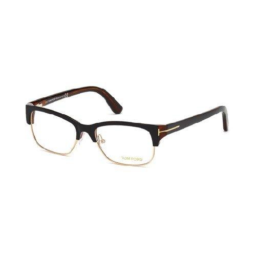 Tom Ford Für Frau 5307 Black / Dark Tortoise Kunststoffgestell Brillen, 52mm
