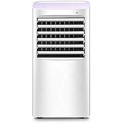 JIANXIN Climatiseur Portatif, Mini Climatiseur Mobile Froid Et À La Maison Pour La Réfrigération Par Réfrigération, Télécommande Blanche
