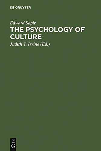 The Psychology of Culture: A Course of Lectures (English Edition)