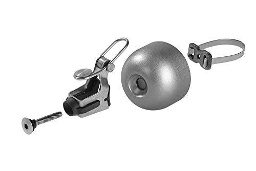 ROCKBROS Radsport Fahrrad Handklingel Fahrradklingel Horn Retro Bell (Silber) - 5