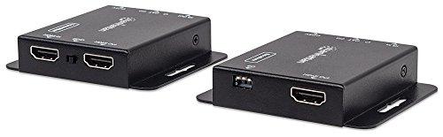 Manhattan HDMI over Ethernet Extender Kit (HDMI-Signalverlängerung (1080p bis zu 50 m) über ein Cat6-Netzwerkkabel / Infrarot-Unterstützung ) 207461