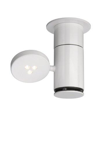 Lirio Lir Torno Deckenstrahler Metall Integriert, weiß 0 x 0 x 15.3 cm