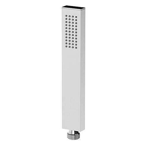 Steinberg 099 9675 Hochwertiger Premium Duschkopf aus massivem Messing mit polierter Chrom-Oberfläche für Bad und Dusche Stabhandbrause
