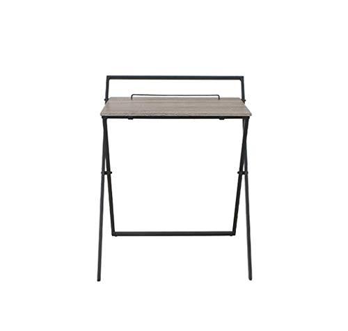 HU Faltbarer Couchtisch Schreibtisch Schreibtisch Student Study Table Heimbüro Multifunktionsgerät (Studenten Studie Für Tisch Runde)