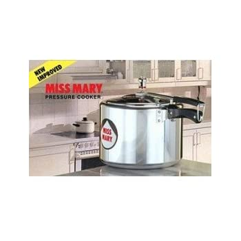 Hawkins Miss Mary Aluminum Pressure Cooker, 8.5 Litres