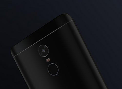 """Xiaomi Redmi Note 4 - Smartphone libre de 5.5"""" (4G, WiFi, Bluetooth, Snapdragon 625 2.0 GHz, 32 GB de ROM ampliable, 3 GB de RAM, cámara de 13 Mp, Android MIUI, dual-SIM), negro [versión española]"""