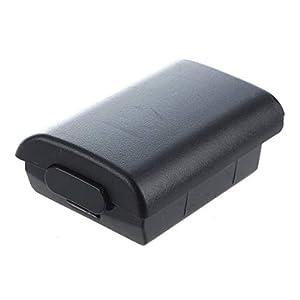 Batteriekasten – TOOGOO(R) Deckel Abdeckung Gehaeuse Abdeckungs Kasten SCHWARZER Batterie fuer Microsoft Xbox 360 Steuerpult