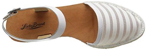 Lucky Brand Romonia2 Cuir Sandale white