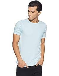 Urban Ranger by Pantaloons Men's Solid Regular Fit T-Shirt