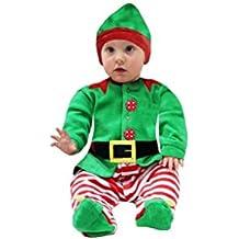 85b42d02637b Amazon.it  costume elfo neonato