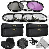 58MM Professional Lens Filter and Close-Up Macro Accessory Kit for CANON EOS Rebel