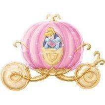 Disney Princess Kürbiszug Riesen Folienballon (nicht aufgeblasenen) (Ballon Princess Disney)