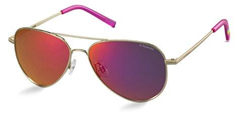 Polaroid Sonnenbrille für Damen und Herren - Polarisierte Gläser mit UV400-Schutz - Inklusive Einsteck-Etui und Mikrofasertuch Modell: PLD 6012/N (J5GAI, 62)