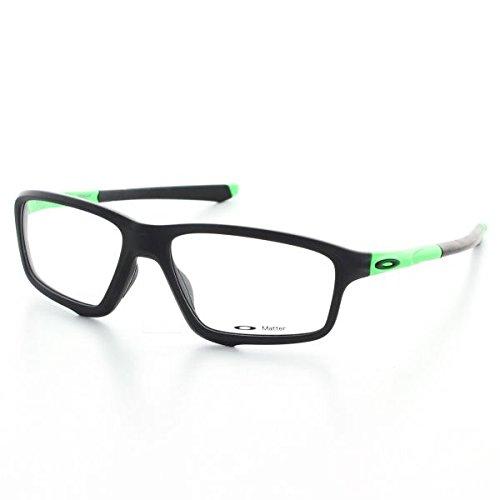 Oakley OO8076-05 Crosslink Zero Green Fade Collection - Olympic Games, Black/Green, 56mm, Eyewear Frames