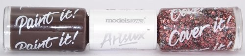 Models Own Artstix Nail Polish Duo - Terra Crystal - (Elements Collection 2013) by Models Own (Zoya Crystal)