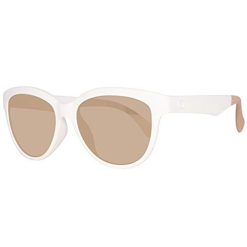 Guess Damen GU7433-5321C Sonnenbrille, Weiß (White), 53