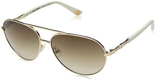 Juicy Couture Damen JU 582/S CC J7F Sonnenbrille, (Lt Gold Ivory/Brown Sf), 58