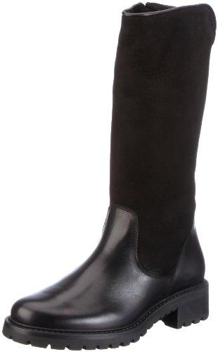 Schwarz 414 Boots Black Jane Diavolezza Damen H80qRwxO