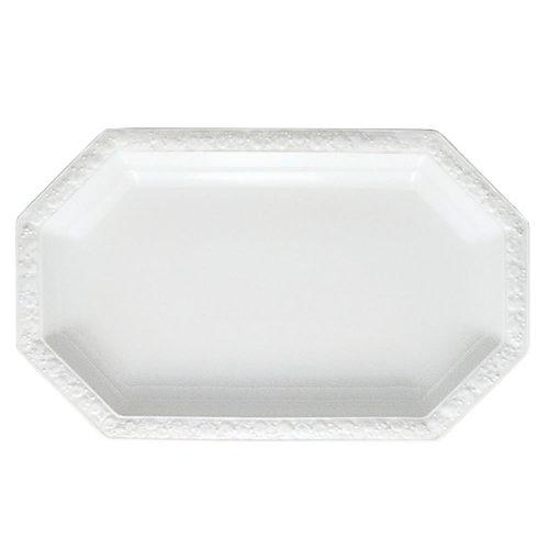 Rosenthal 10430-800001-12738 Maria Platte 38 cm (38.5 x 24 cm), weiß