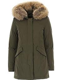 Donna Giacche Abbigliamento woolrich Amazon Verde it e cappotti wYBOB8Zxq