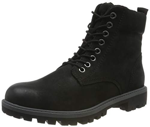 Tamaris Damen 1-1-25272-23 Combat Boots, Schwarz (Black 1), 39 EU
