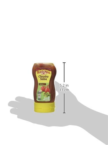 Old El Paso Mexican Chunky Salsa Squeezy, 238g 5