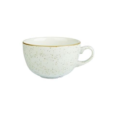 Churchill Stonecast Barley White - Cappuccinotasse - 46 cl, 6 Stück