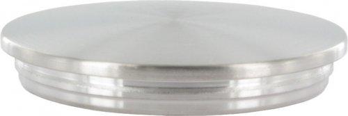 Modell:3175-2 halbrund Gel/änderrohre /Ø 42,4 mm Edelstahl Gel/änder V2A Endkappen Rohrstopfen Rohrkappe