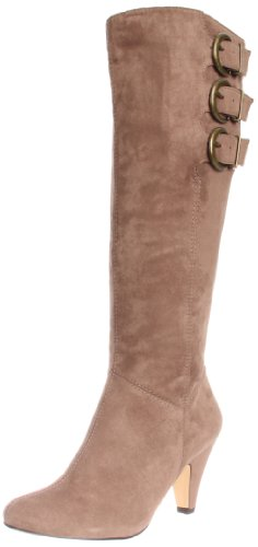 Bella Vita Women's Transit II Boot,Taupe Faux Suede,7 WW US (Knee Suede Faux Boots High)