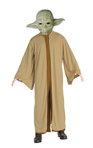 Yoda Wars Herren Für Erwachsene Star Kostüm - Generique - Yoda-Star Wars-Kostüm für Erwachsene Lizenz grün-braun M / L