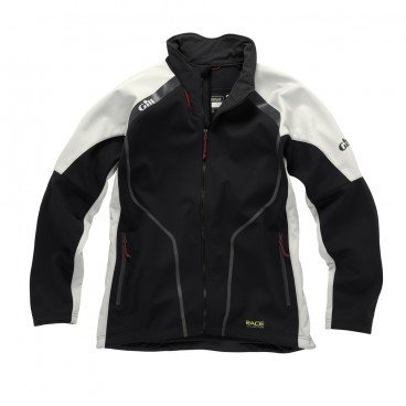 Gill Race Collection Softshell Jacket Graphite/Silver RC017 Size- - ExtraLarge Race Softshell