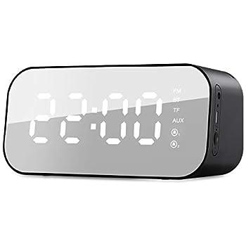 havit 6-In-1 Digitaler Wecker Radio Bluetooth mit 3W Musik