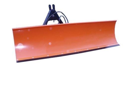 Schneeschild Schneeschieber Schneepflug für Bulldog Kat-3 Traktor / 200x57cm inklusive Hydraulikzubehör