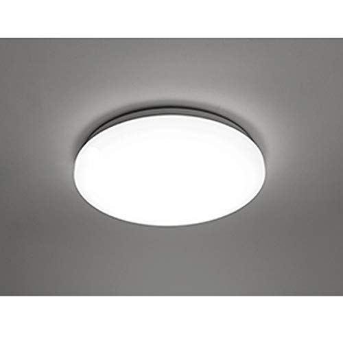 COOLWEST Lámpara de Techo 18W Plafones Blanco 6000K 1650lm Ø28cm IP44 impermeable 180° LED Iluminación de techo para baño, cocina, dormitorio, pasillo, balcón, sala de estar, comedor