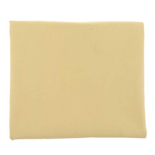sharprepublic 1m wasserdichte Baumwolle Canvas Stoffe Segeltuch Stoff Leinen Roh Leinwand Stoff Plane Zelt Basteln Material DIY - Gelb -