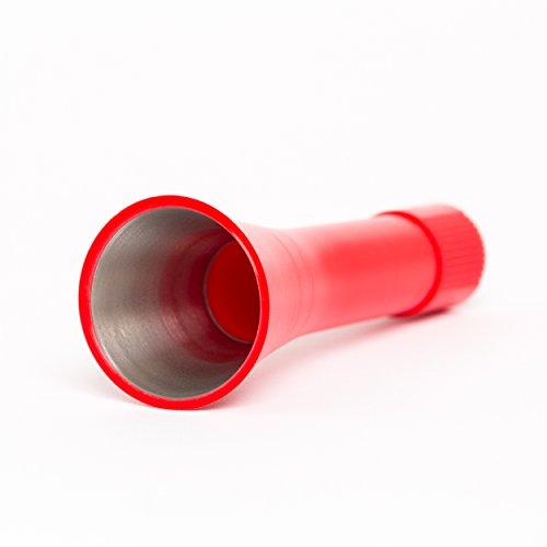 Preisvergleich Produktbild Nozzle Trichter matt rot Metalleinsatz Trompete Tröte Tornador Gun Z-010S, Z-014S