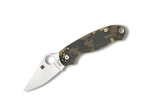 Spyderco Para 3 Camo Taschenmesser Digital Tan Grün, Klingenlänge: 7,5 cm, 01SP242 - Camo Taschenmesser