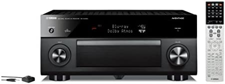 Yamaha RX-A3050 150W 9.2channels Surround 3D Black AV receiver - AV receivers (150 W, 9.2 channels, Surround, 230 W, 295 W, 175 W)