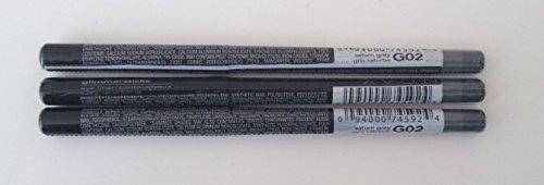 3 x Avon Glimmerstick Eyeliner in Saturn Grey